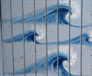 waves and art image