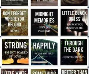 one direction, midnight memories, and songs image