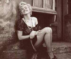 Marilyn Monroe, blonde, and pretty image