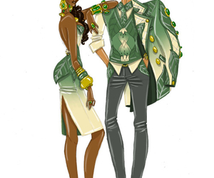 disney, fashion, and tiana image