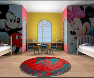mickey mouse stickers, mickey mouse decal, and mickey mouse wall mural image
