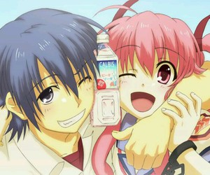 anime, angel beats, and yui image
