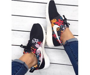 fitness, inspiration, and shoes image