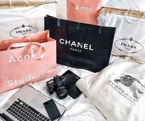 chanel, city, and shop image