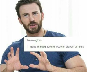 chris evans, tumblr, and Avengers image