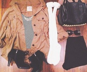 outfit, fashion, and booties image