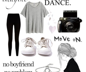 basic, leggings, and outfit image