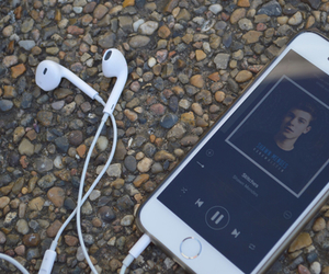 shawn mendes, iphone, and music image