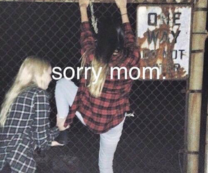 sorry, grunge, and mom image