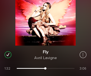 Avril Lavigne, fly, and lovely image