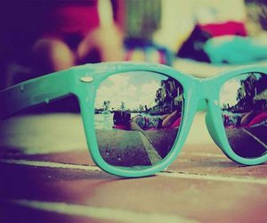 summer, glasses, and sunglasses image