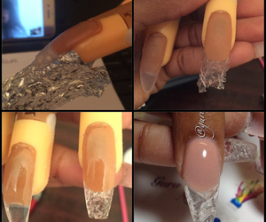 beauty, nails, and prettynails image