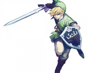 link, anime, and fanart image