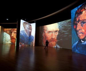 art, van gogh, and theme image