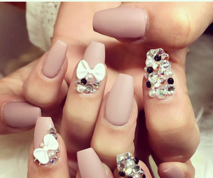 bows, diamonds, and nails image