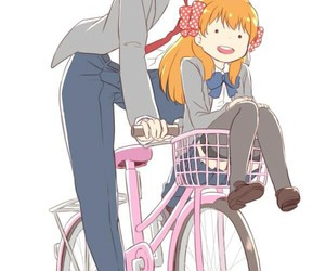anime, sakura, and nozaki image