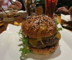 burger, cafe, and food image