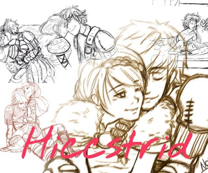 httyd, love, and hiccstrid image