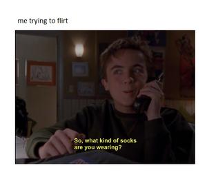 flirt, funny, and memes image