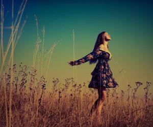 girl, dress, and free image