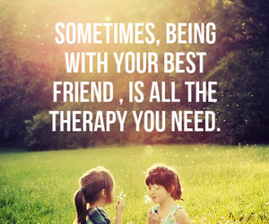 best friends, therapy, and friends image