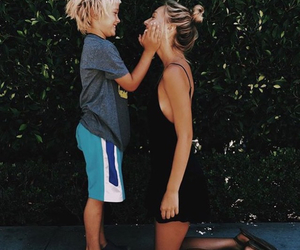 alexis ren, family, and blonde image