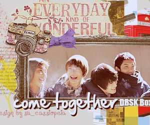 dbsk, tvxq, and banner image