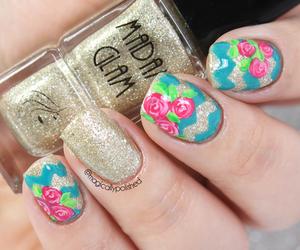 elegant, nails art, and cute image
