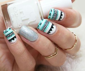 manicure, nails, and elegant image