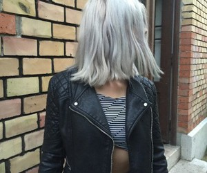 hair, style, and grunge image