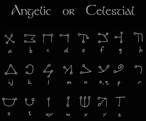angelic, celestial, and witchcraft image