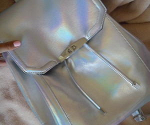 bags, fashion, and holographic image