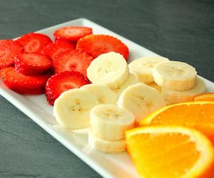 banana, food, and orange image
