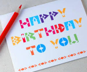card, colours, and happy birthday image