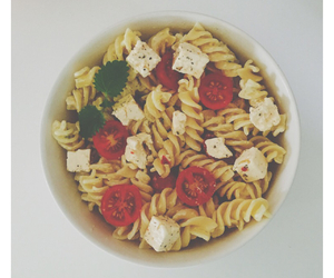 eat, pasta, and yummy image