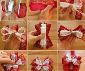 bow, gift, and idea image