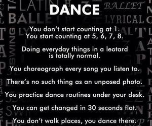 dance, danza, and rules image