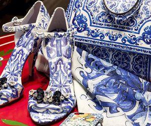 blue, designer, and heels image