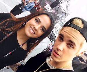 justin bieber and becky g image