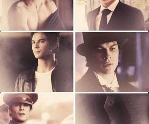 ian somerhalder, Vampire Diaries, and damon salvatore image
