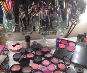 beauty, cosmetics, and mac image