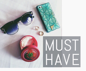 accessories, iphone, and sunglasses image