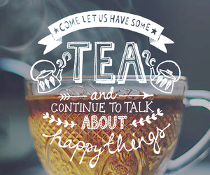 tea, quotes, and wallpaper image