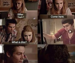 funny, teen wolf, and youtube image