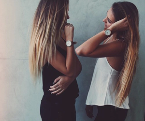 fashion, friends, and hair image