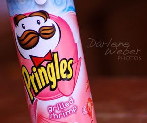 pink, pringles, and chips image