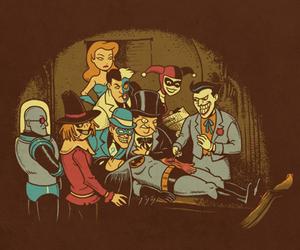 batman, joker, and Two Face image