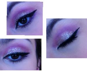 cool, eye, and eyeliner image