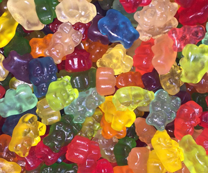 candy, colorful, and gummies image