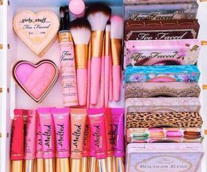 beauty, lipstick, and blush image